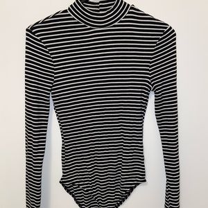 Striped Long Sleeve Bodysuit